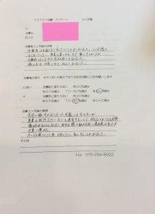 ミラドライ患者 H・Hさん 3ヶ月後 京都四条烏丸院
